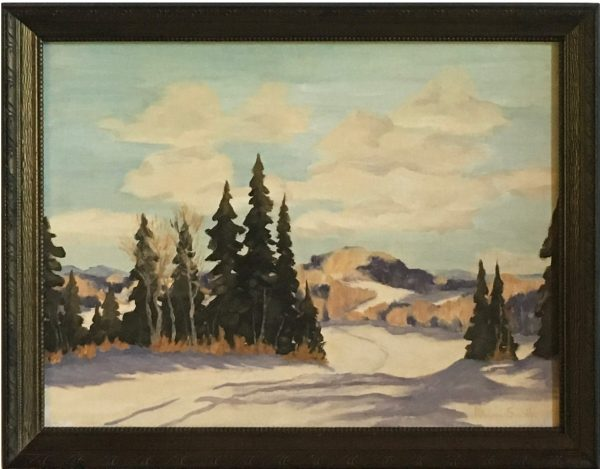 oil painting of Midwinter Day