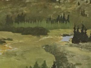 oil painting of Sylvan View