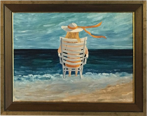 oil painting of Summer Solitude